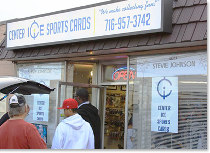 Welcome to Center Ice Sports Cards