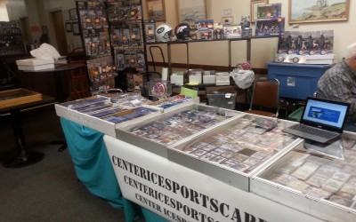 Center Ice Sports Cards will be at the Webster Card Show Sunday 8/30/15