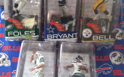 Wednesday 1/21 our shipment of Series 35 Football Mcfarlanes will be here at 1:00 pm