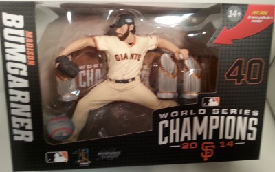 Madison Bumgarner Limited Edition Mcfarlane Available at Center Ice Sports Cards