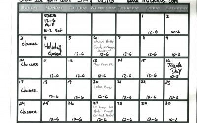 Check out my Quick Calendar for,Store Hours,Product Release,Events and more in July !!